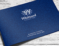 Whittard of Chelsea, Brand Brochure Design