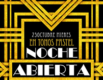 Noche Abierta (Art Decó Pastel)