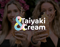 Taiyaki & Cream // BRANDING