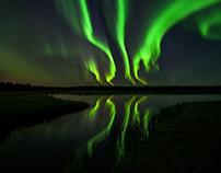 October auroras