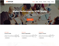 Skylex is a business / Agency Template