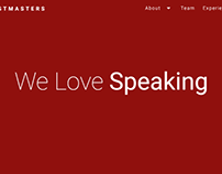 Delhi Toastmasters Website Design