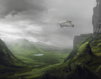 Project Matte Painting - Sci Fi