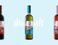 Moments - Wine Website