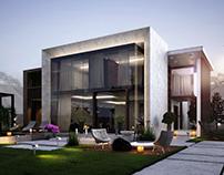 Sokhna Hills villa concept.