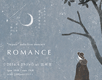"repair solo concert "" FILMLESS CINEMA"" [ ROMANCE ]"