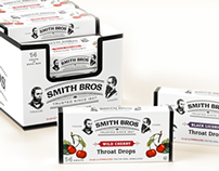 Smith Brothers Cough Drops Redesign