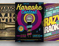 Karaoke Flyer Bundle V2