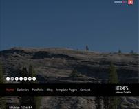 Hermes - Fullscreen Premium Template