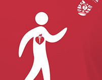American Heart Association Heart Walk T-Shirt