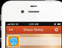 Mock Mobile Portfolio App