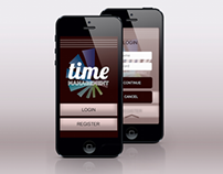 Time Management Infographic and Mobile App