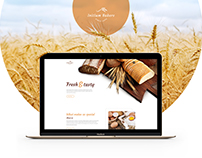 Initium - Bakery - UI/UX - Design