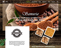 A Creative Web Landing Page For a Herbal Medicine..