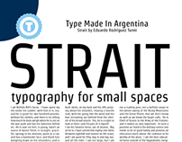 STRAIT - Free Google Web Font