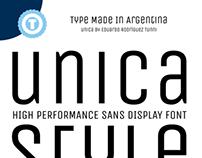 UNICA - Free Google Web Font