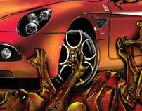 Alfa Romeo 8C - Born in hell