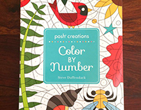 Creations: Color by Number Coloring Book