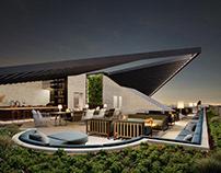 Architectural visualization of Bendigo hotel, Australia