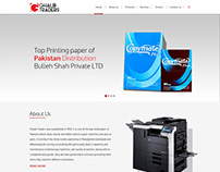 Website development for a paper distribution company