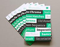 Charlie & Echo Type Specimen