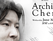 Archie Chen concert poster