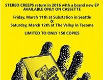 Stereo Creeps Cassette Release Promo