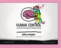 Presentation for Human Control, vector character