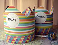 Stripe set - Yona's Birthday