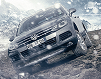 Touareg and Tiguan Conquer Everest