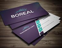 Identidade Visual - Boreal Tecnologia