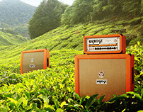 Orange Amplification Advertisement