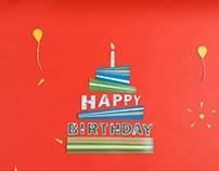 Happy Birthday - Stop Motion