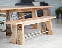 Topsham Table & Benches