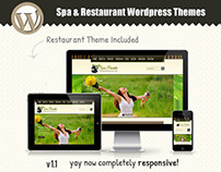 Spa Treats - Responsive Wordpress Theme