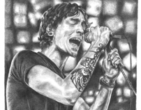 Illustration - Graphite Pencil - Brandon Boyd