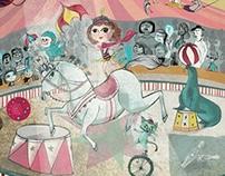 Circus horseback rider