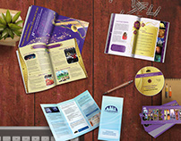 Graphic design: brochures, books, cards, CDs