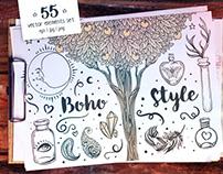 Boho Style Set