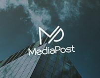 """MediaPost"" agency logo"