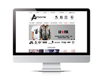 Airborne webshop