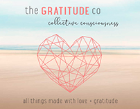 Landing page design, UI/UX for the Gratitude co
