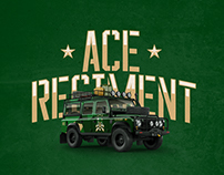 ACE REGIMENT Branding