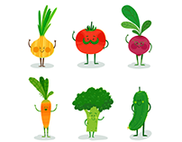 Vegetable friends