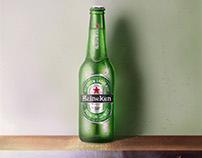 Pintura digital - Heineken.