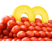 McDonalds Happy Meal Snack Tomatos