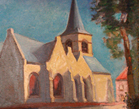 Oil Paintings - Churches