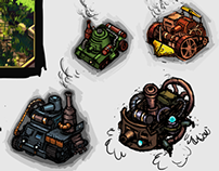 Concepts for tank game