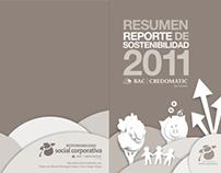 Resumen Reporte de Sostenibilidad BAC CREDOMATIC 2011