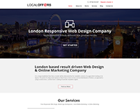Website Design for Digital Agency London, UK
